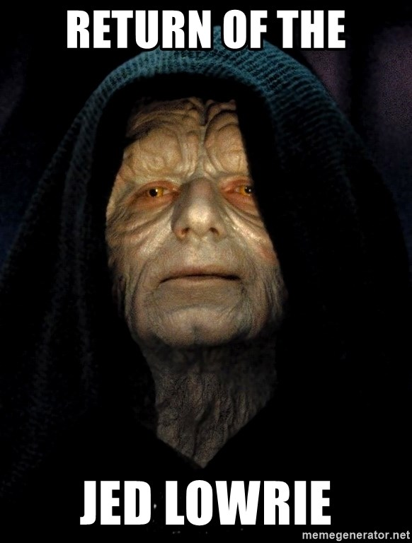 Star Wars Emperor - Return of the Jed Lowrie
