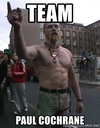 Techno Viking - Team Paul Cochrane