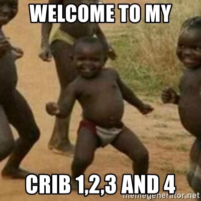 Black Kid - WELCOME TO MY  CRIB 1,2,3 AND 4