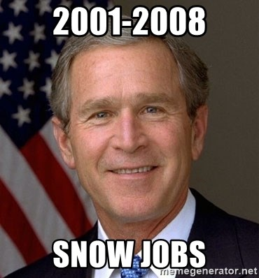 George Bush - 2001-2008 Snow Jobs