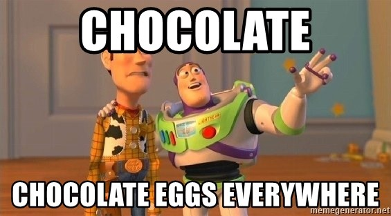Consequences Toy Story - CHOCOLATE CHOCOLATE EGGS EVERYWHERE