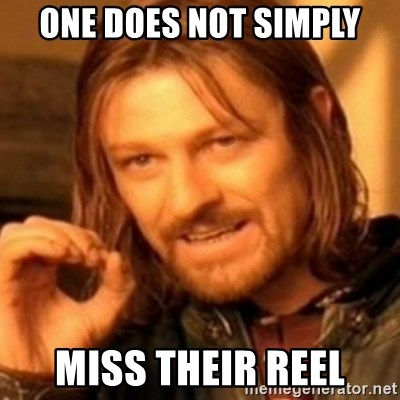 ODN - ONE DOES NOT SIMPLY MISS THEIR REEL