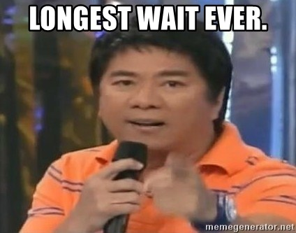 willie revillame you dont do that to me - LONGEST WAIT EVER.