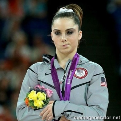 McKayla Maroney Not Impressed -