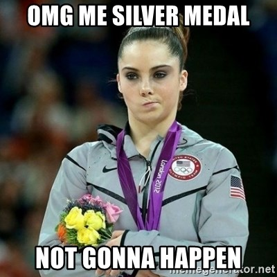 McKayla Maroney Not Impressed - OMG ME SILVER MEDAL NOT GONNA HAPPEN