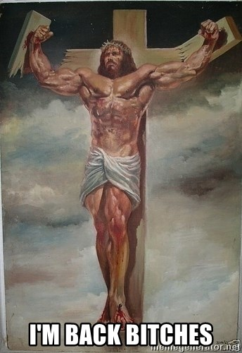 Muscles Jesus -  I'M Back bitches
