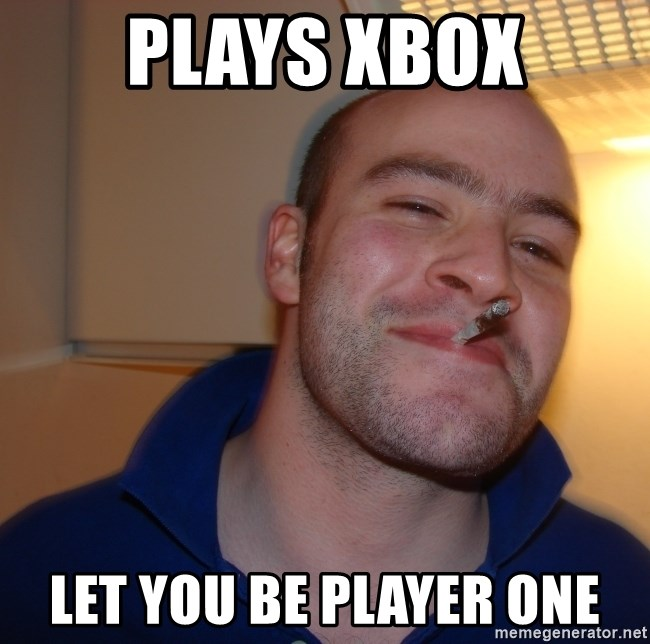 Good Guy Greg - plays xbox let you be player one