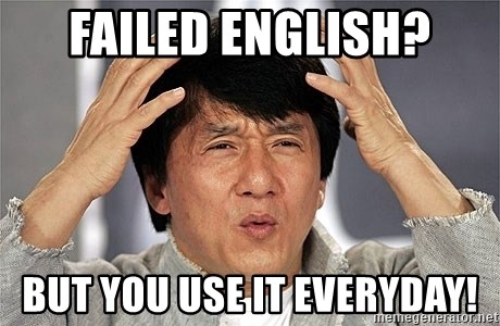Jackie Chan - Failed English? But you use it everyday!