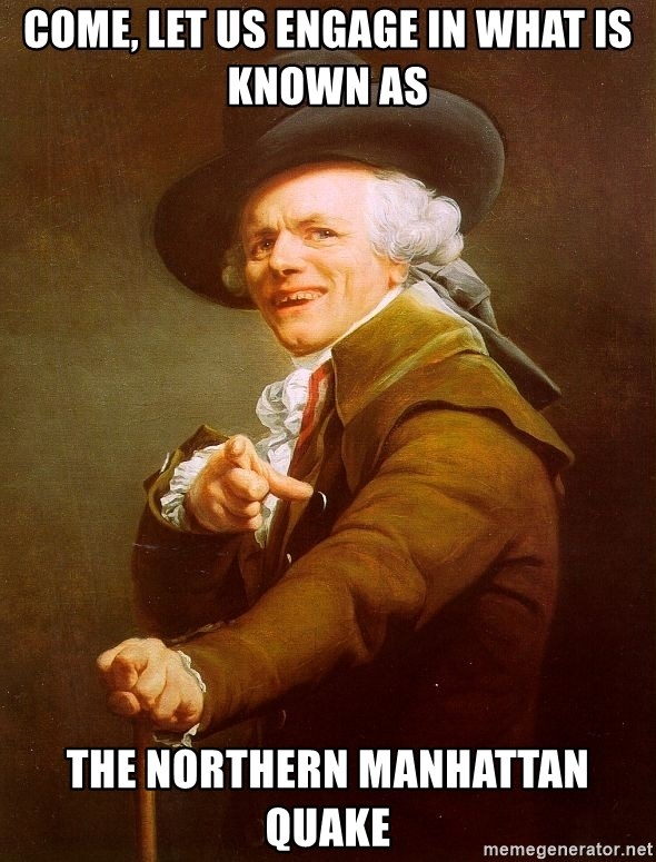 Joseph Ducreux - Come, let us engage in what is known as the northern manhattan quake