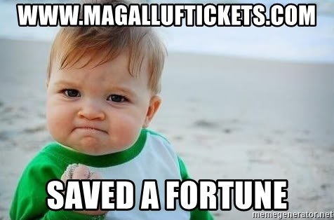 fist pump baby - www.magalluftickets.com saved a fortune