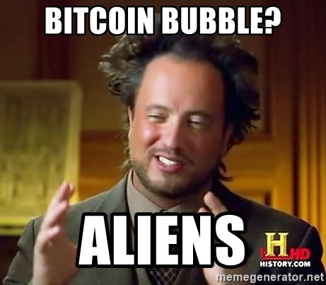 Ancient Aliens - Bitcoin bubble? aliens