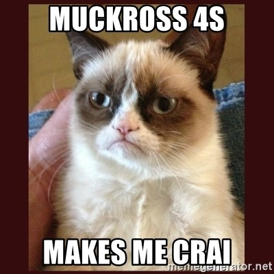 Tard the Grumpy Cat - Muckross 4s Makes Me crai