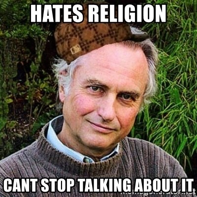 Scumbag atheist - HATES RELIGION CANT STOP TALKING ABOUT IT