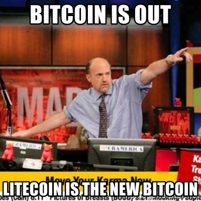 Karma Cramer - Bitcoin is out Litecoin is the new bitcoin