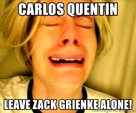 Leave Brittney Alone - carlos quentin  leave zack grienke alone!