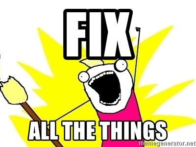 X ALL THE THINGS - Fix All the Things