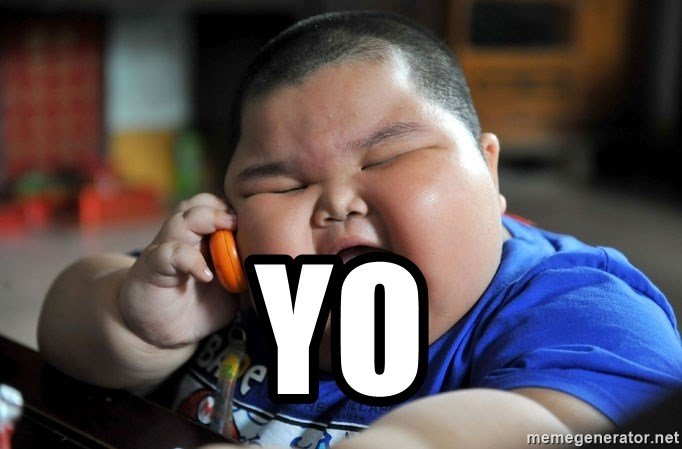 Fat Asian Kid -  Yo