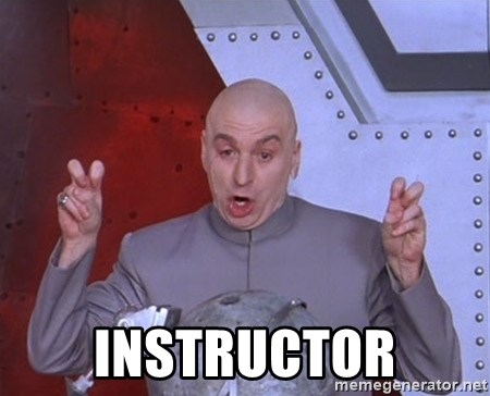Dr. Evil Air Quotes -  Instructor