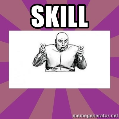 'dr. evil' air quote - Skill