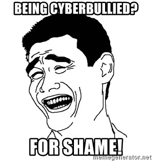 Asian Troll Face - Being Cyberbullied? For shame!