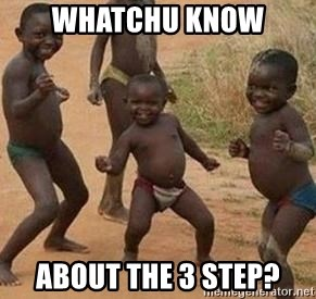african children dancing - Whatchu know  about the 3 step?