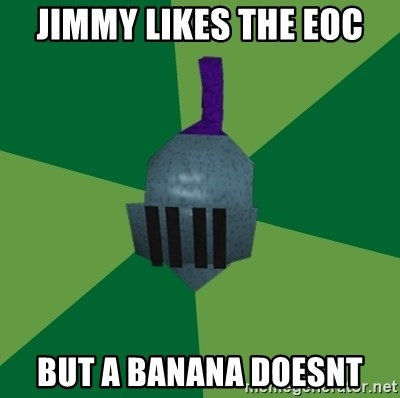 Runescape Advice - jimmy likes the eoc but a banana doesnt