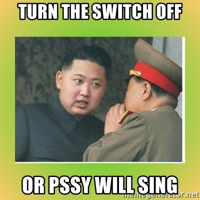 kim joung - turn the switch off or pssy will sing