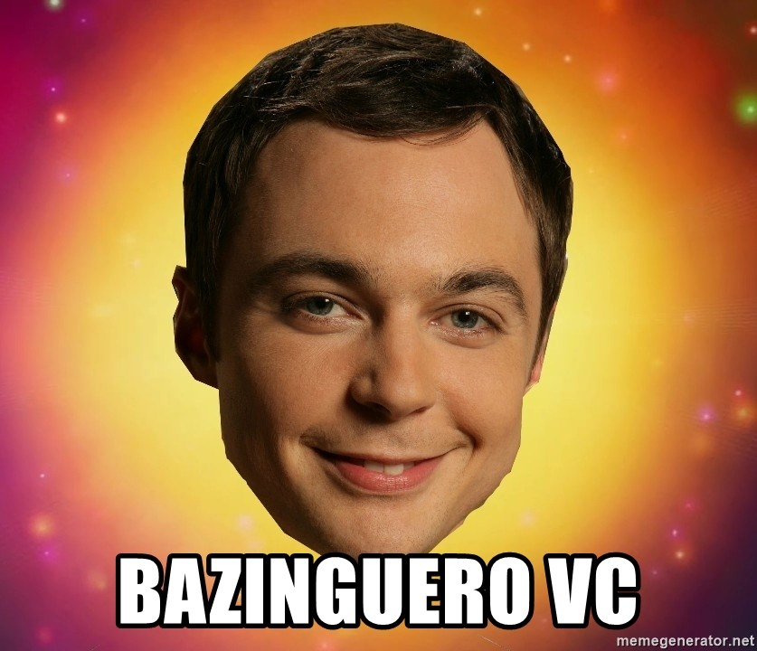 Sheldon Big Bang Theory -  BAZINGUERO VC