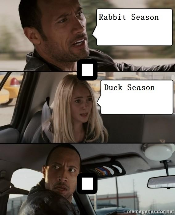 The Rock driving - . .