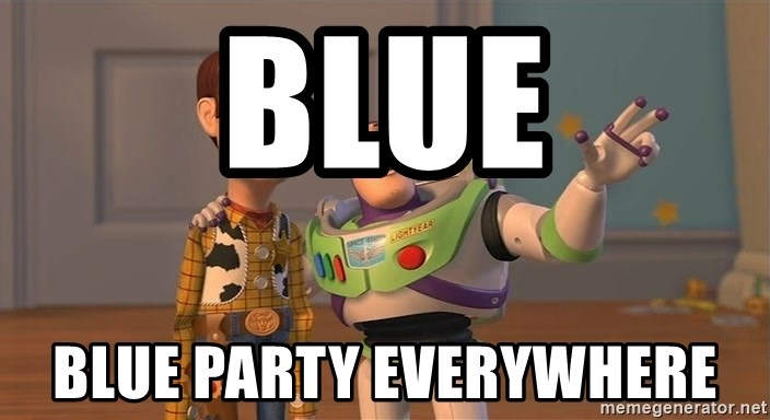 Anonymous, Anonymous Everywhere - Blue blue party everywhere