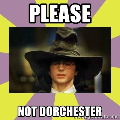 Harry Potter Sorting Hat - Please Not dorchester