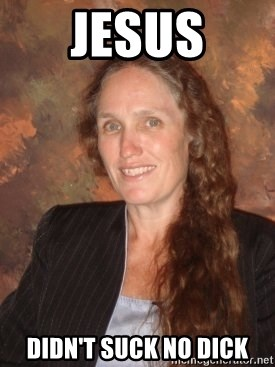 Westboro Baptist Church Lady - Jesus Didn't suck no dick