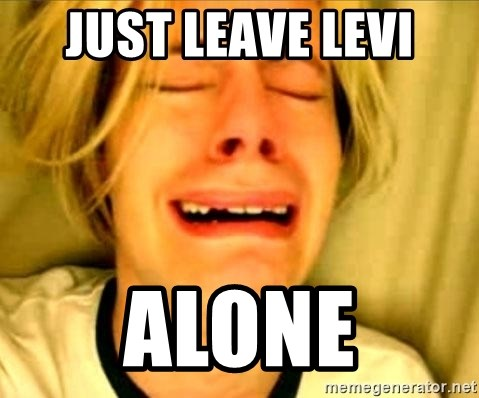 Leave Brittney Alone - just Leave levi alone