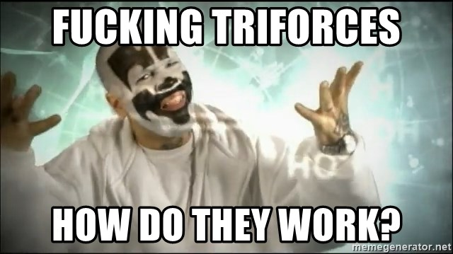 Insane Clown Posse - Fucking TRIFORCES HOW DO THey work?