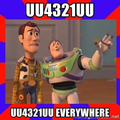 Everywhere - uu4321uu UU4321UU EVERYWHERE