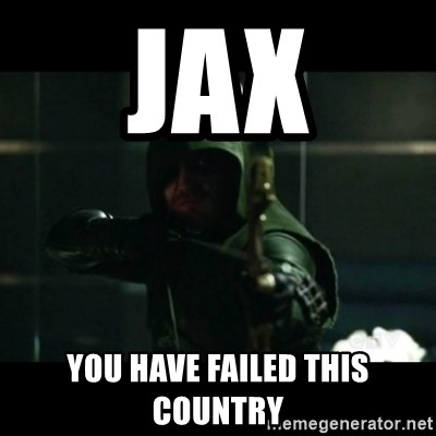 YOU HAVE FAILED THIS CITY - JAX you have failed this country