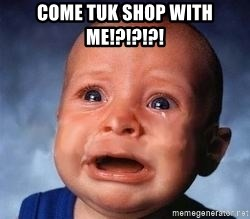 Very Sad Kid - come tuk shop with me!?!?!?!