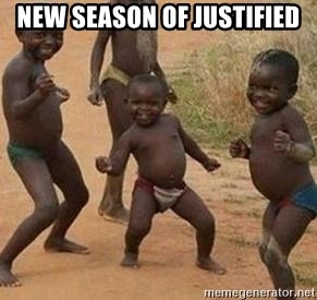 african children dancing - new season of justified
