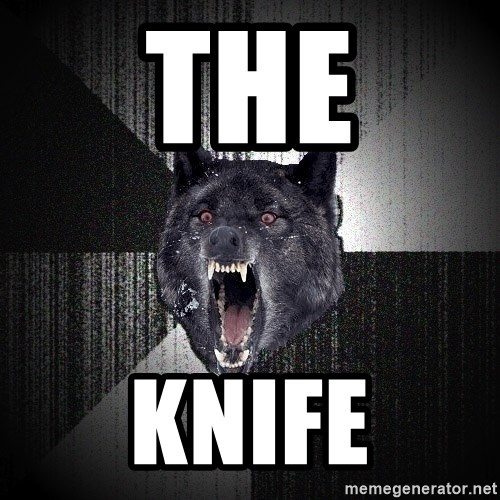 Insanity Wolf - The Knife
