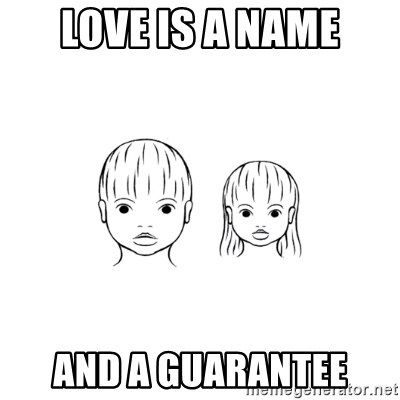 The Purest People in the World - love is a name and a guarantee