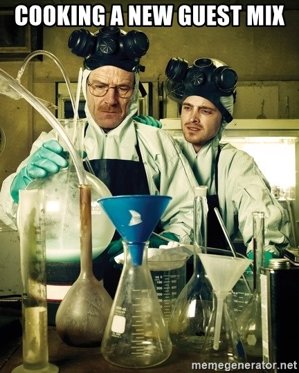 breaking bad - Cooking a new guest mix