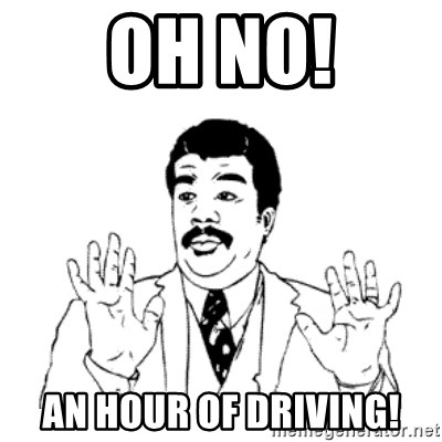 aysi - OH NO! AN HOUR OF DRIVING!