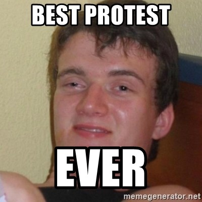 Stoner Stanley - best protest  ever