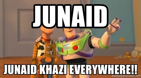 Consequences Toy Story - Junaid  Junaid Khazi everywhere!!