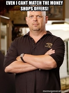 Pawn Stars Rick - Even i cant match the Money shops offers!
