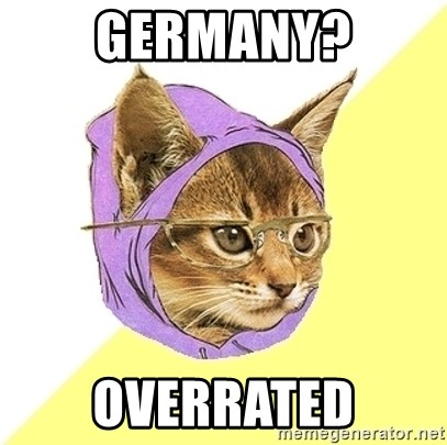 Hipster Kitty - Germany? Overrated