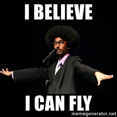 AFRO Knows - I believe i can fly
