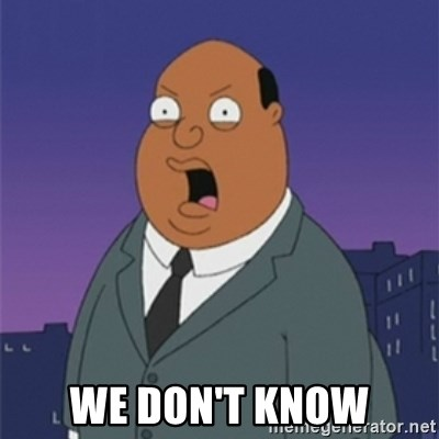 ollie williams -  we don't know