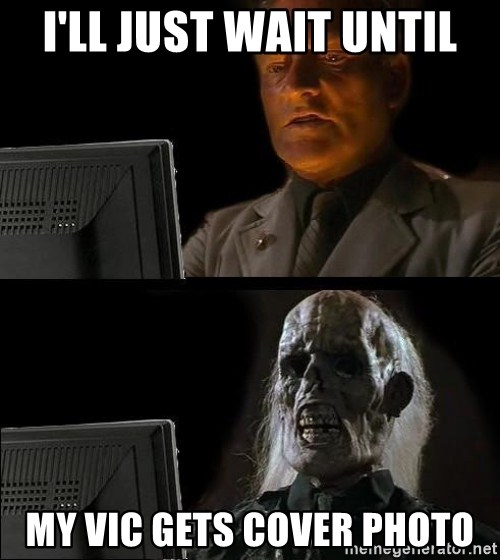 Waiting For - I'll just wait until my vic gets cover photo