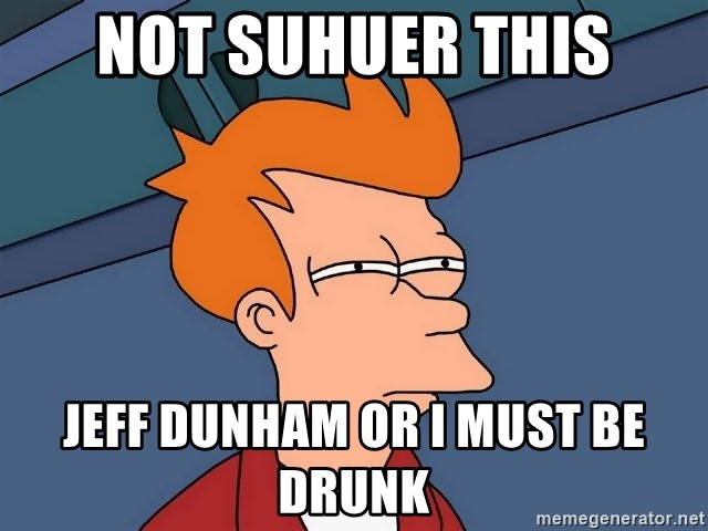 Futurama Fry - not suhuer this jeff dunham or i must be drunk